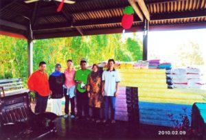 2010 New sponsorship for Homestay program