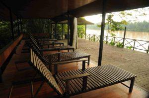 9.Sundeck facing Kinabatangan River